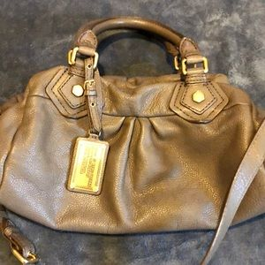 Marc by Marc Jacobs taupe bag
